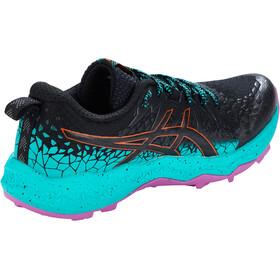 asics Fuji Trabuco Lyte Shoes Women, negro/Turquesa